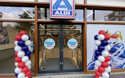 Welkom ALDI! Vanaf vandaag geopend.